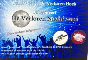 Nacht van de verloren hoek @ Feestzaal Zandberghoeve